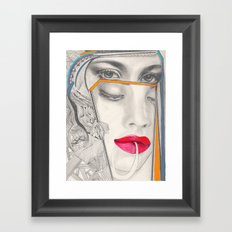 I Believe in Beauty 3 Framed Art Print