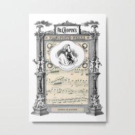 Frederick Chopin Polonaise art Metal Print