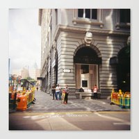 hong kong Canvas Prints featuring Hong Kong, Hong Kong by Pam Uy