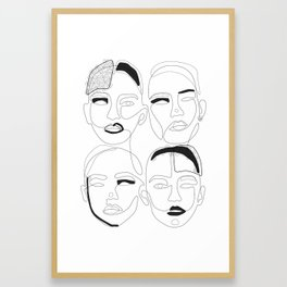 Are Unique BW Framed Art Print
