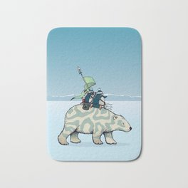 Nature warriors: From Pole to Pole Bath Mat