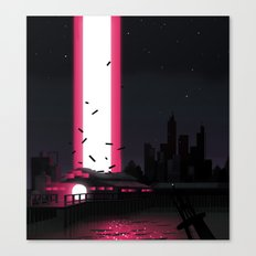 Invaders Canvas Print