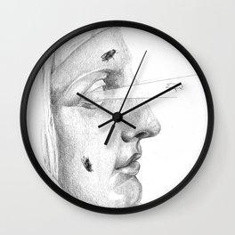 Too deaf, dumb, and blind... Wall Clock