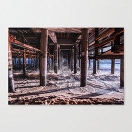 Pier Pressure Canvas Print