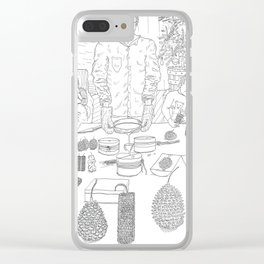 beegarden.works 010 Clear iPhone Case