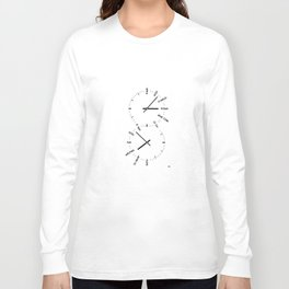 Two Watches Long Sleeve T-shirt