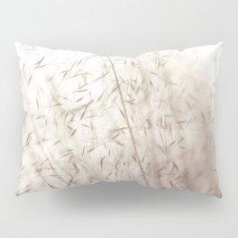 White pampas grass II Pillow Sham