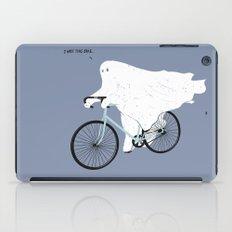 Negative Ghostrider. iPad Case