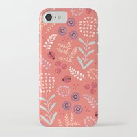 iPhone Cases featuring Little Ladybugs by Poppy & Red