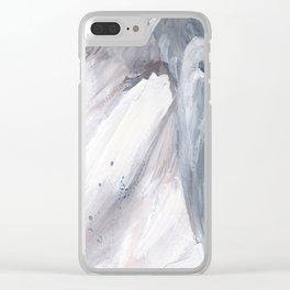 Crashing Waves v.2 Clear iPhone Case