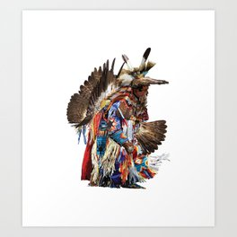Eagle Dancer Art Print