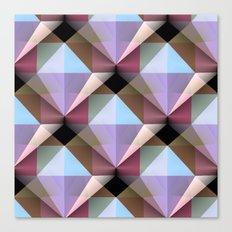 Facets 4 Canvas Print