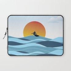 Surfing 1 Laptop Sleeve