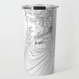 Tatted bust  Travel Mug