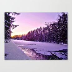Frozen Voyage Canvas Print