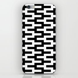 Geometric Pattern #89 (zigzag) iPhone Skin