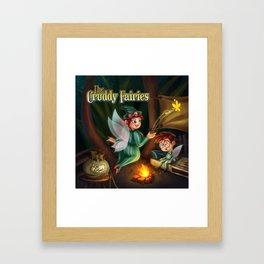 The Cruddy Fairies Framed Art Print