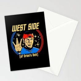 West Side - Spock Stationery Cards