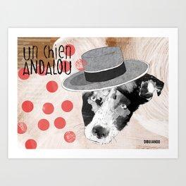 Un chien andalou Art Print