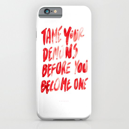 Demons iPhone & iPod Case