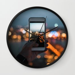 Picture of a picture - Cologne, Germany Wall Clock