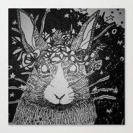 Rascally Wabbit Canvas Print