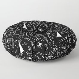 Dark Magic Floor Pillow