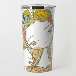 Floral Motherhood Travel Mug