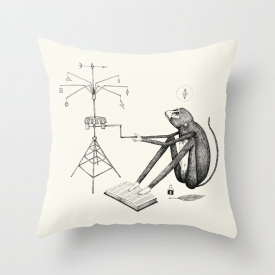 'Weather Machine' Throw Pillow