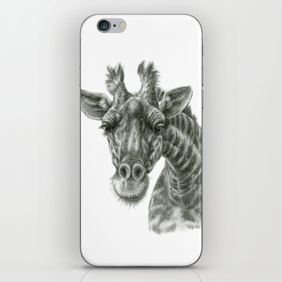 The giraffe G2012-049 iPhone & iPod Skin