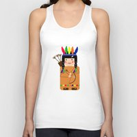 indian Tank Tops featuring Indian by lescapricesdefilles