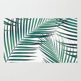 Palm Leaves - Green Cali Vibes #1 #tropical #decor #art #society6 Rug