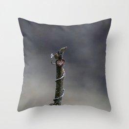 Meditative Focus Throw Pillow