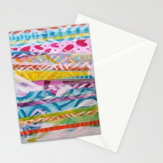 Abstract Heart Stationery Cards