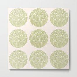 Circle pattern 03 Metal Print