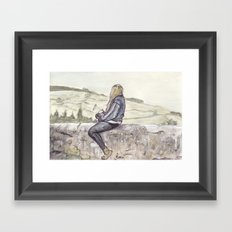 Unknown Figure 02 Framed Art Print
