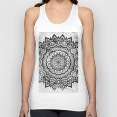 BLACK JEWEL MANDALA Unisex Tank Top