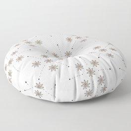 Floral Constellation (XL) Floor Pillow