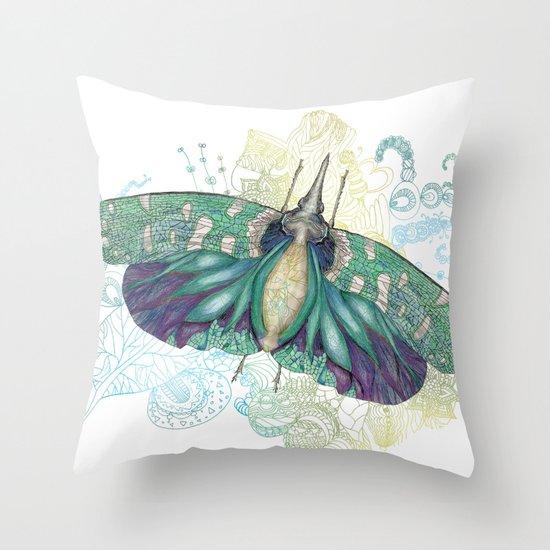 Hotinus Maculatus  Throw Pillow