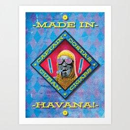 Costa's Cigars Art Print