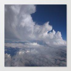 Swirl clouds Canvas Print