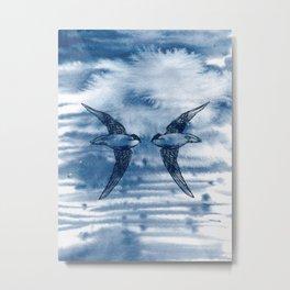 Swift Pair Metal Print