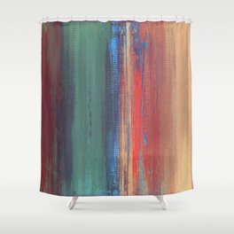 Untitled Digital Abstract Shower Curtain