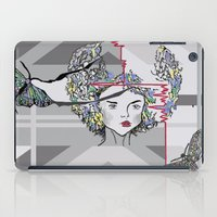 moth iPad Cases featuring Moth by WaterLily