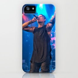 Andy LaPlegua of Combichrist iPhone Case