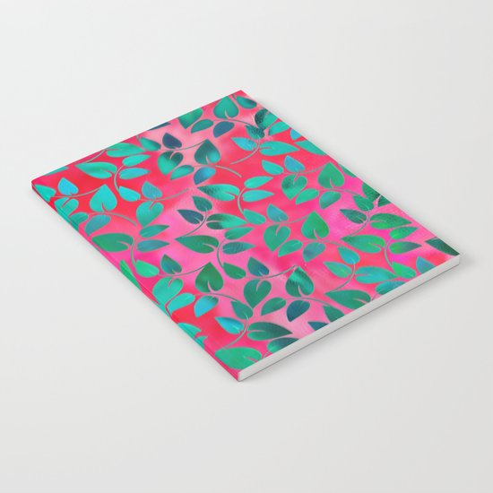 Leaves Pattern 6 Notebook