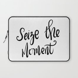 Seize the moment Laptop Sleeve