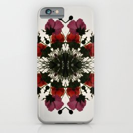 Pretty Mallows and Poppies iPhone Case