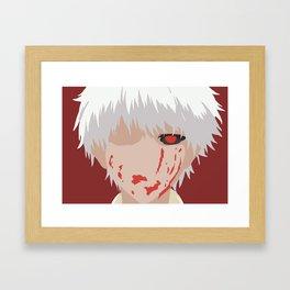 Ghoul Kaneki Ken Framed Art Print