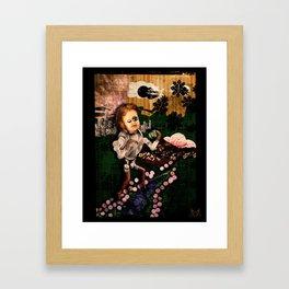 Sundae Frolick Framed Art Print